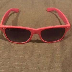 Ray-Ban Pink Sunglasses!